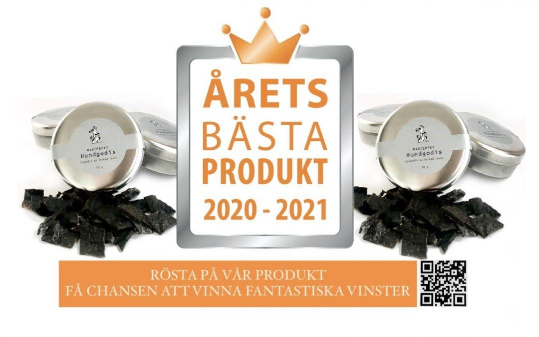 ÅRETS BÄSTA PRODUKT 2020-2021